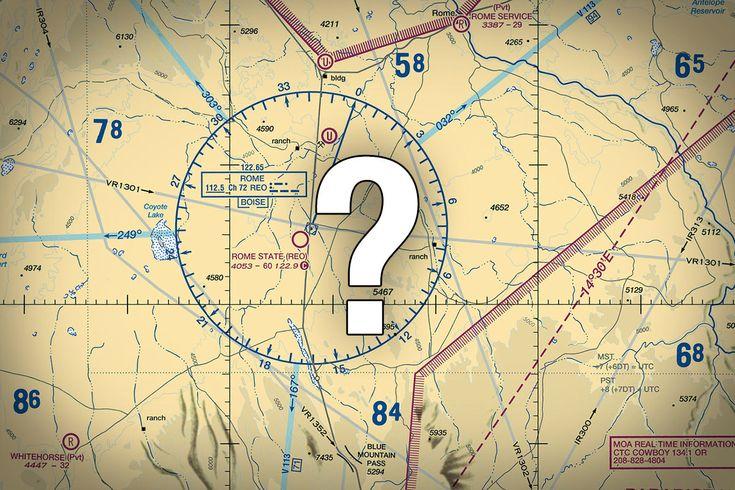 Quiz: Do You Know These Odd VFR Chart Symbols? via boldmethod