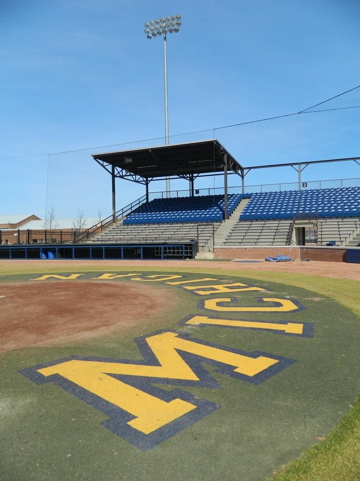 Ray Fisher Stadium, home to Michigan Baseball