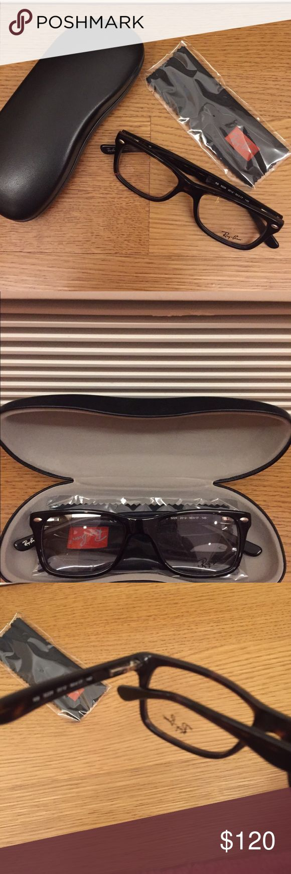 ray ban sticker for prescription sunglasses  never worn ray ban reading glasses nwt