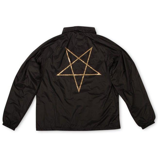 4163aeba2c00 Thrasher Pentagram Coach Jacket size - S colour- Black and gold ...