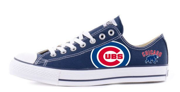 Chicago Cubs Custom Converse ( Use coupon code myteam save 10%)