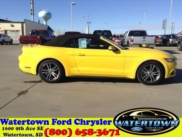 watertown ford chrysler a used 2016 ford mustang x6323 for sale in. Cars Review. Best American Auto & Cars Review