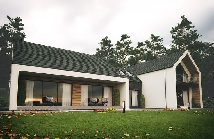 The Dromintee replacement house is at the foot of Slieve Gullion Forest Park, Newry, County Armagh designed by Ballymena Architects Slemish Design Studio.
