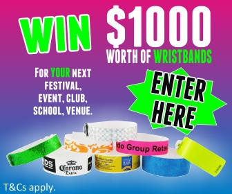 Win Wristbands for your Aussie business