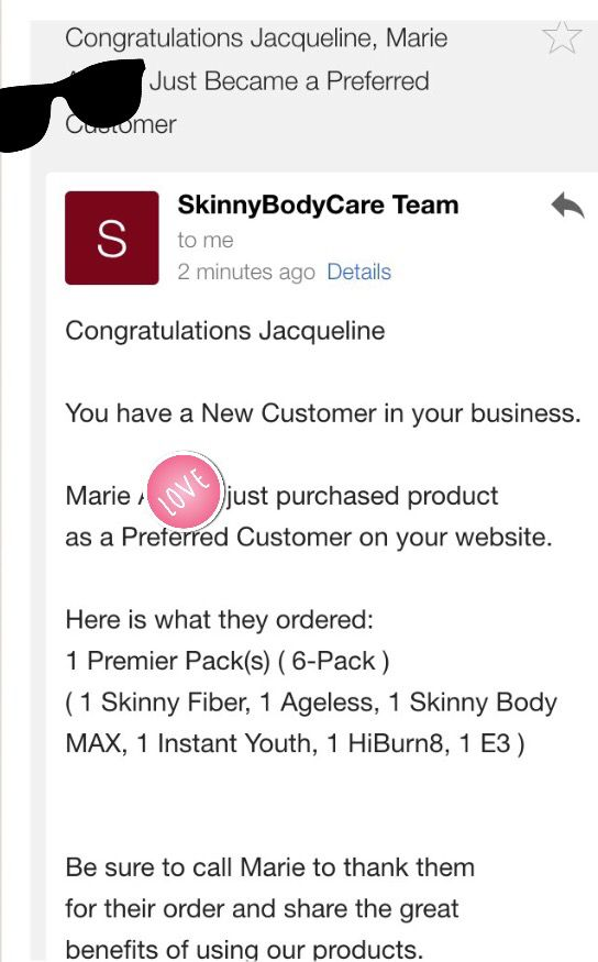 Marie is serious about her health. She ordered all of the products with a buy 3 get 3 free.  Order yours here http://tiredoftheweight.com  Made in USA ships internationally   #skinnyfiber #skinnybodycare #beauty #skincare #health #skinnybodymax #hiburn8 #ageless #instantyouth