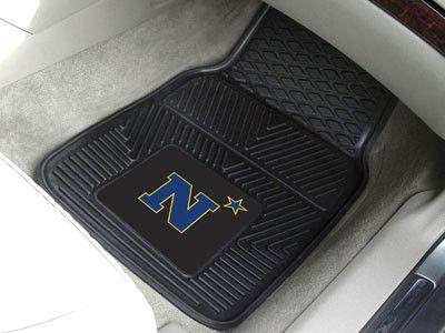 Vinyl Car Floor Mat Set - U.S. Naval Academy Midshipmen