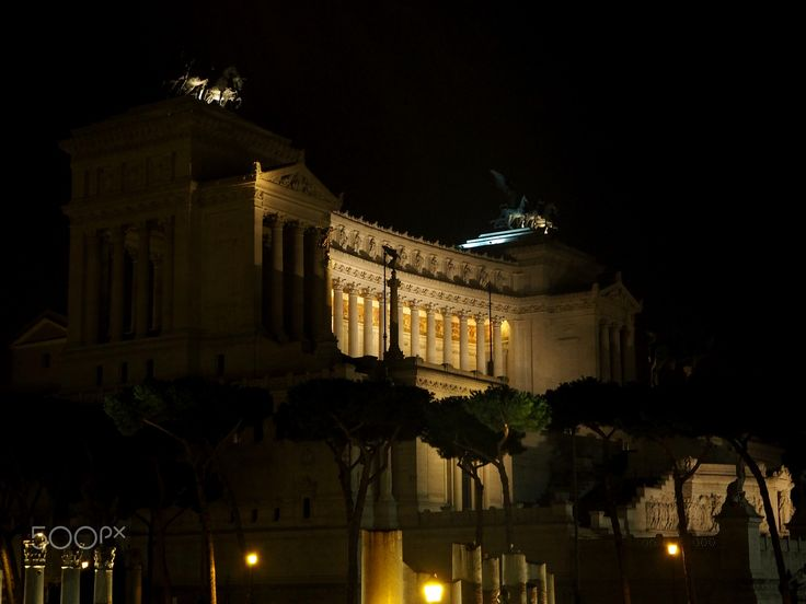 Altare della Patria - View of the altar of the homeland, or Victorian