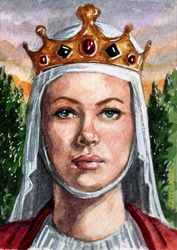 --When did she become queen?-- On 25 October 1154, Henry became King of England. Eleanor was crowned Queen of England by the Archbishop of Canterbury on 19 December 1154.