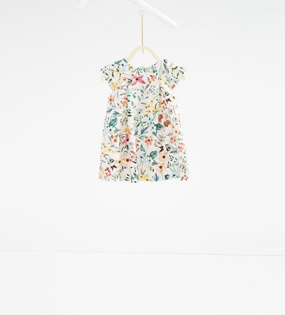 ZARA - SALE - Floral dress