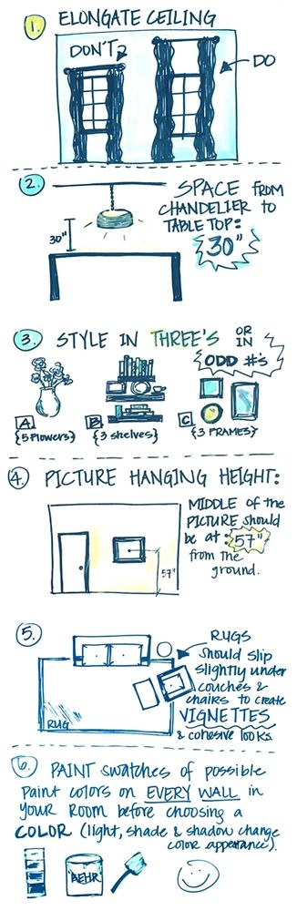 Interior design tips...