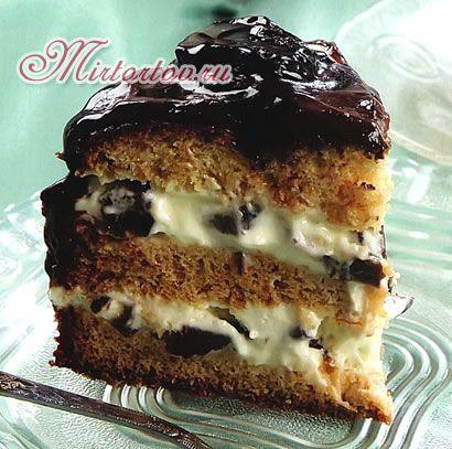 Десерт из чернослива и орехов