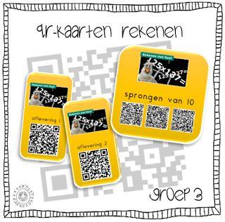 QR-kaarten | REKENEN
