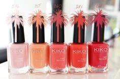 Swatch: mes vernis à ongles laqués KIKO.