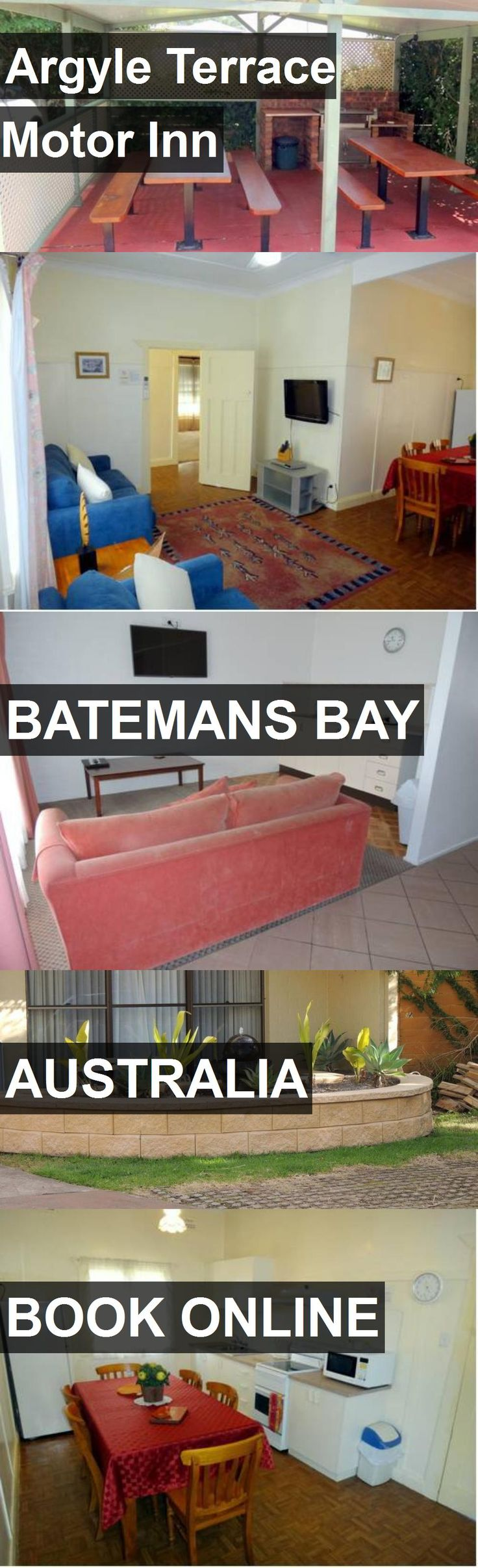 Hotel Argyle Terrace Motor Inn in Batemans Bay, Australia. For more information, photos, reviews and best prices please follow the link. #Australia #BatemansBay #travel #vacation #hotel
