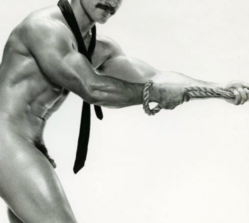 Not sure how vintage the photo is but he mustache certainly is!