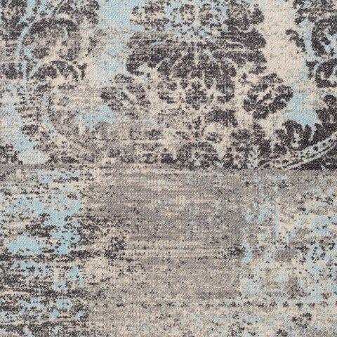 Hamat-vintage-karpet 744 Patch PS 042 Sand Mint-VloerenCentrale