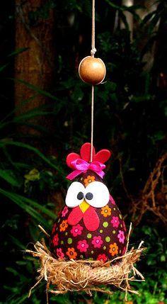huevo de pascua- gallina
