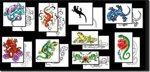 Tatuajes de lagartijas - Tendenzias.com