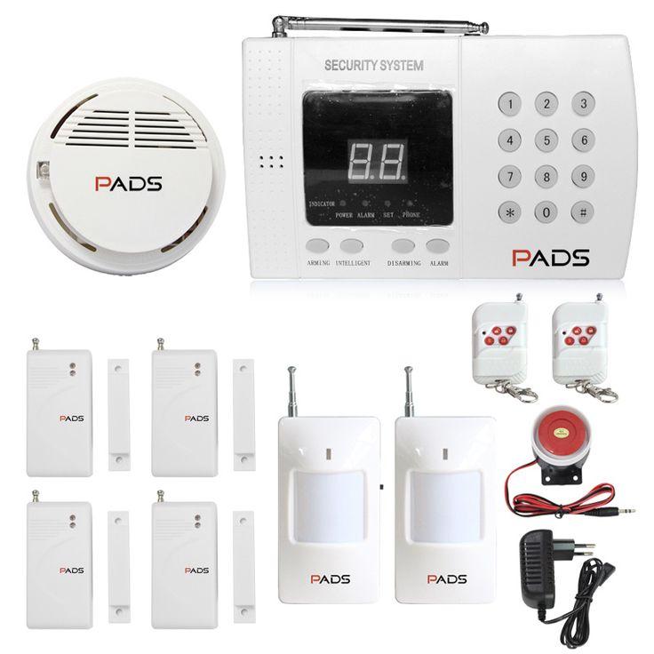 PADS Brand P61 99 Zones Home Burglar Security Auto Dial PSTN Telephone Line Alarm System Home Fire Alarm System
