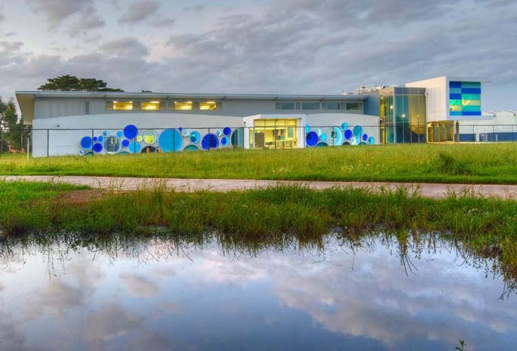 Centre for Sustainable Water Management, at the Chisholm Institute of TAFE, Cranbourne, Vic – Vincent Chrisp Architects
