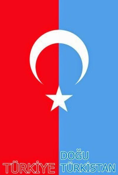 Uygurstan (Doğu Türkistan) -Восточный Туркестан