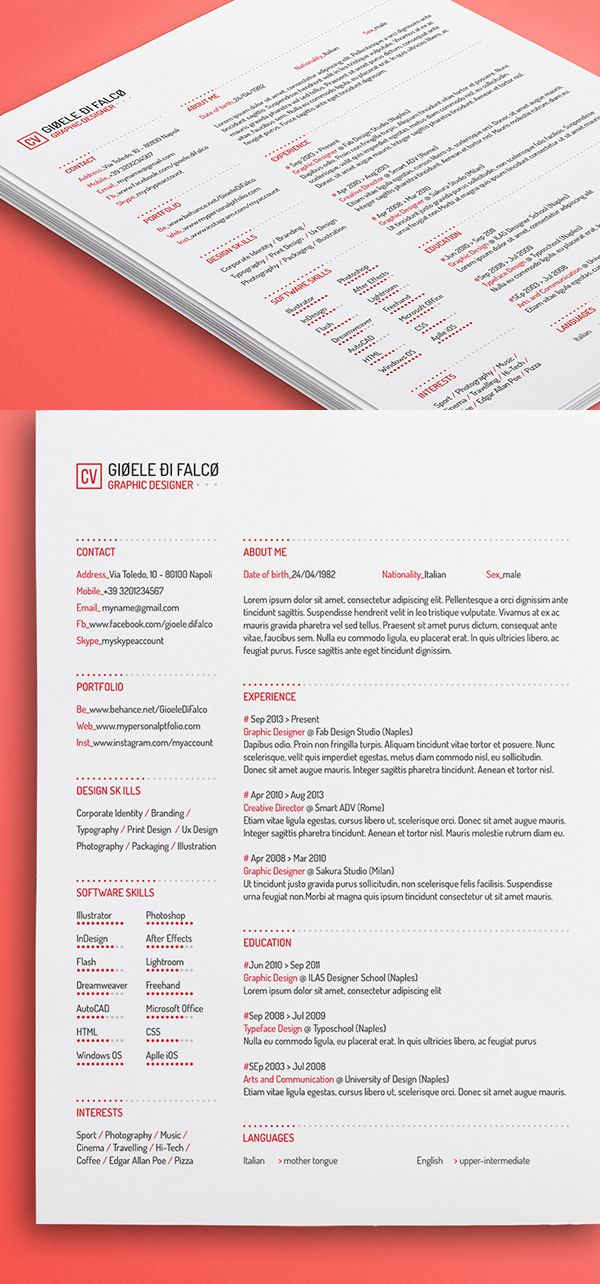 25 best Free Downloadable Resume Templates By Industry images on - Free It Resume Templates