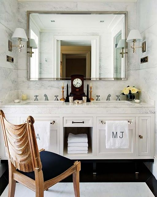loveBathroom Design, S'Mores Bar, Masterbath, Vanities, Marbles, Towels Racks, Towels Bar, Bathroom Ideas, Master Bath
