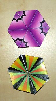 hexahexaflexagon template - 17 best images about flexagon fanatic on pinterest flats