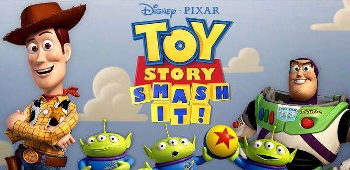 """Toy Story: Smash It!, sebuah game android 3D physics-based puzzle yang menghadirkan karakter favorit anda dari film Toy Story. Memulai petualangan baru dengan para """"mainan"""" melalui pertemuan lucu di luar angkasa, mengejar alien di Wild West, dan banyak lagi!"""