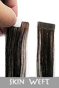 skin weft virgi hair
