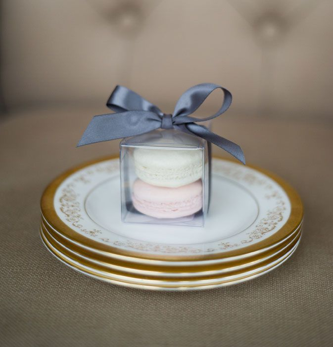 Bobbette & Belle | French Macaroon Wedding Favours