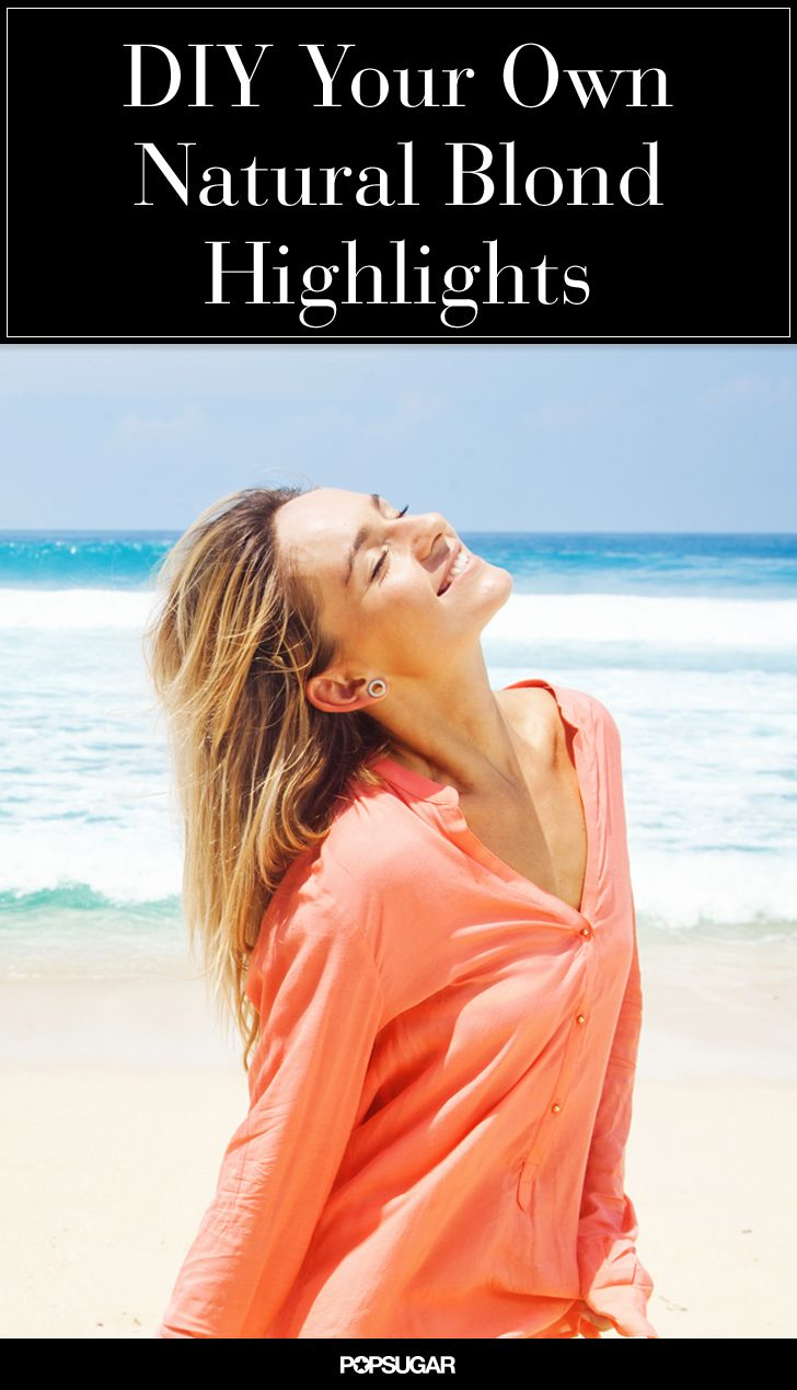 How to DIY a Natural Highlight Spray With Products You Already Own