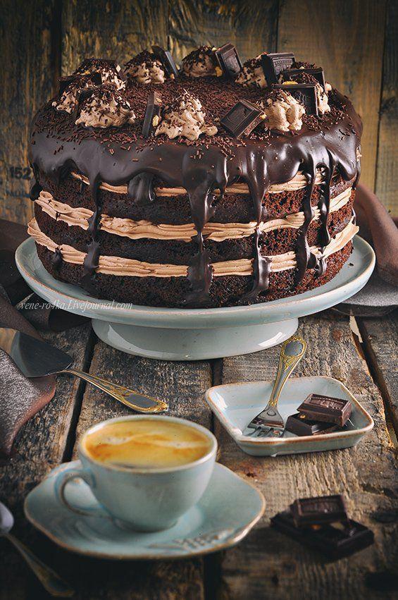 Новорічний шоколадний торт рецепт