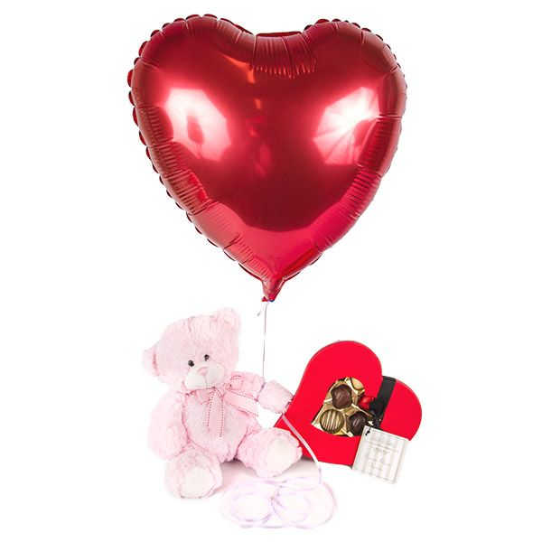 valentines day delivery bear