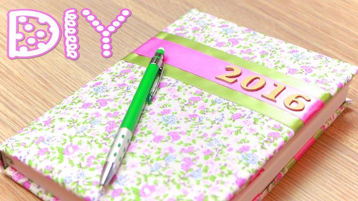 Как украсить Простой Ежедневник (Дневник) / DIY Decorating Diary  ✿ Nata...