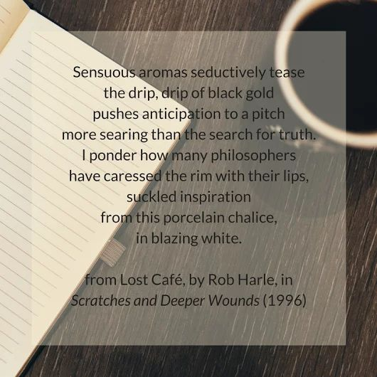 Coffee ~ excerpt from Lost Café by Rob Harle