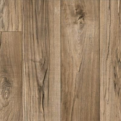 TrafficMASTER Rustic Weathered Oak Plank 132 ft Wide