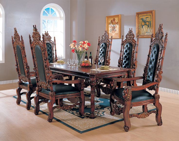 Dining Table Design TableDining Room DesignGothic