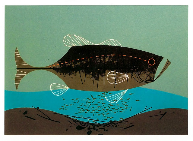 290 best images about charley harper on pinterest for Charley s fishing