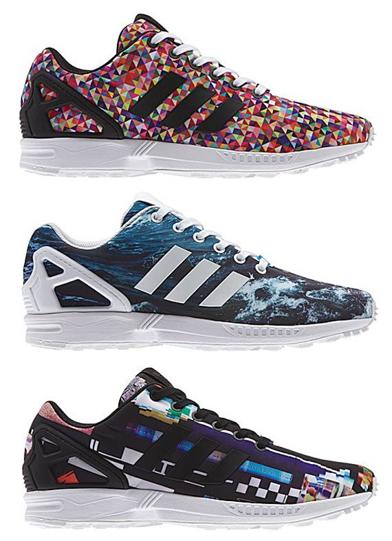 adidas originals zx flux photo print pack 06 adidas Originals ZX FLUX Photo  Print Pack |