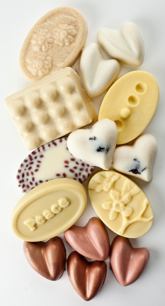 More Lush! These are all awesome!  The heart shaped pinky ones go on like a natural shimmer great for summer!   our massage bars - ready to go, and ready to make your skin glow!
