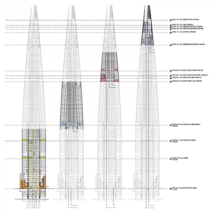 Architectural Drawings Of Skyscrapers 1723 best architecture images on pinterest | architecture