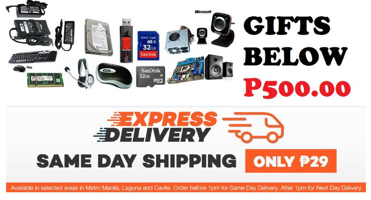 10 GIFTS BELOW 500 PESOS WITH SAME DAY DELIVERY!  Still missing some gifts for Christmas? Try Lazada's same day delivery and get the gifts you need today! Gifts below P500 pesos 😍🤗😁  Follow us: Best Gift Ideas Shopping  #BestGiftIdeasShopping #Computer #laptop #men #women #electronics #gadgets #P500 #P400 #P300 #P200 #P100 #P50 #P1000