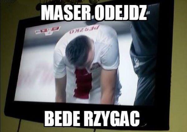 Maser odejdź będę rzygać • Sławomir Peszko w meczu towarzyskim Polska vs Czechy • Memy piłkarskie po meczu Polski • Wejdź i zobacz >> #polska #memy #soccer #sports #football #piłkanożna