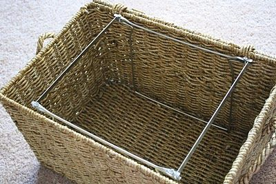 Stillwater Story: Ballard Design File Storage Basket for Less!