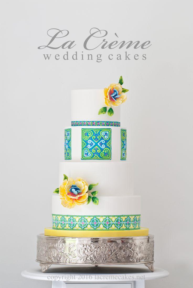Hmong design wedding cake                                                       …