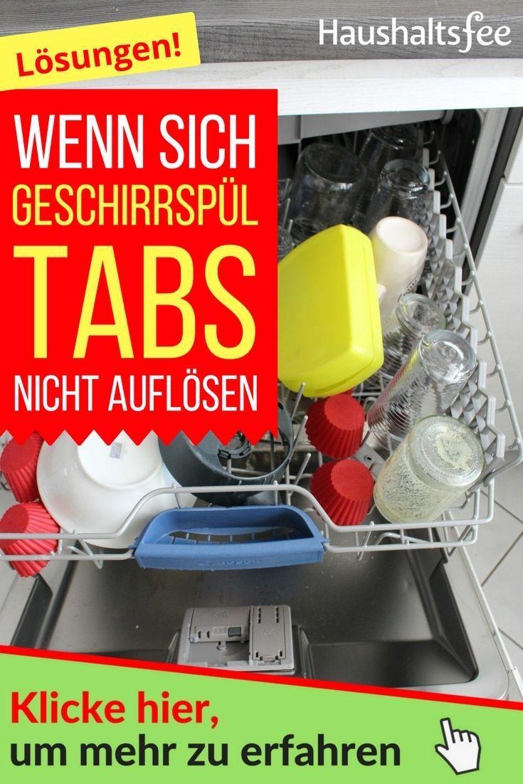 Geschirrsp ltab l st sich nicht auf putz hacks tipps for Spulmaschine verstopft wasser steht