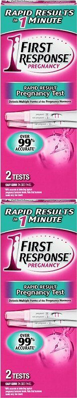 Pregnancy Tests: First Response Rapid Result Result Pregnancy Test 2 Ea(Pack Of 2) -> BUY IT NOW ONLY: $30.39 on eBay!
