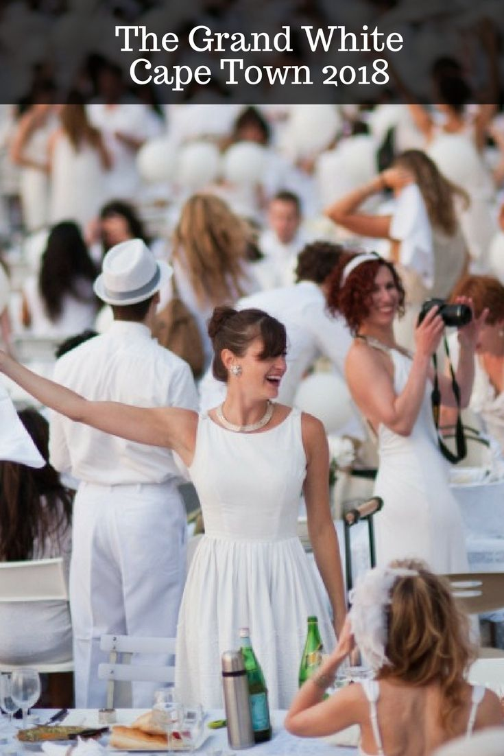 24 February 2018. The Grand White event celebrates its 5th Anniversary in 2018 with an impressive entertainment program. You will be surprised. #capetown #events #thegrandwhite