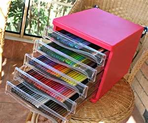storage for art pencils
